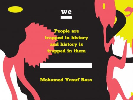 Mohamed Yusuf Boss: People are trapped in history